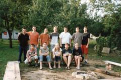 Mládež - tábor v Uhrovci - 2002