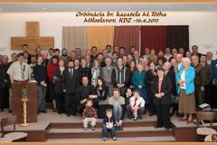 Ordinácia kazateľa - 2011
